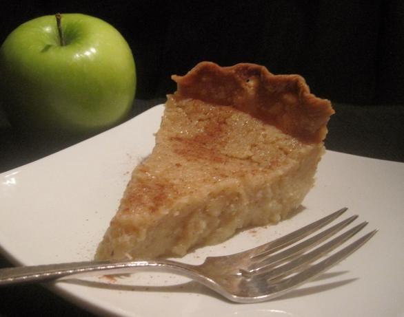 Applesauce Pie Recipe - try cutting sugar to 3/4 c