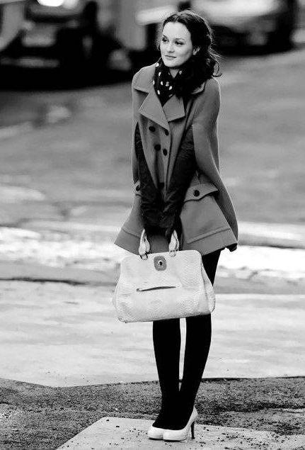 Blair Waldorf looking Chic