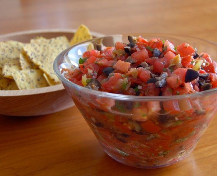 Salsa Fresca | My Recipes - italiangirlcooks.com | Pinterest