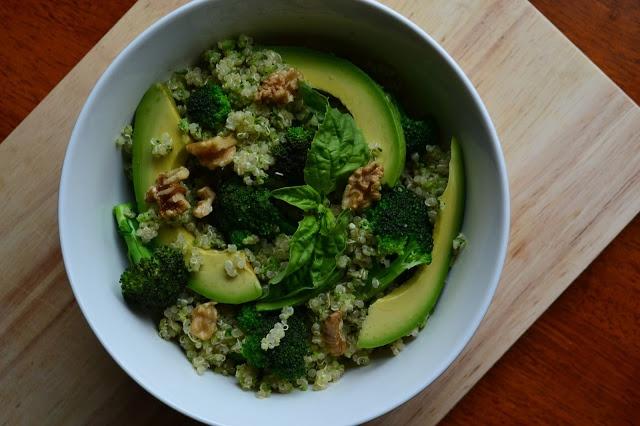 Nourish Your Roots: Double Broccoli Quinoa