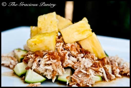 crock pot pineapple chicken - on the gracious pantry that has healthy ...