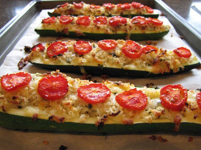 pepper boats pesto stuffed zucchini stuffed zucchini flowers stuffed ...