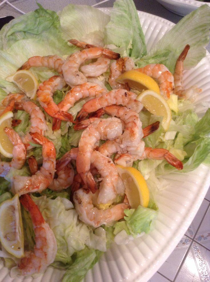 Grilled Shrimp cocktail platter | What's Cookin? | Pinterest