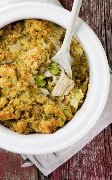 Chicken and Stuffing Bake. interesting idea, kind of a combo stuffing ...