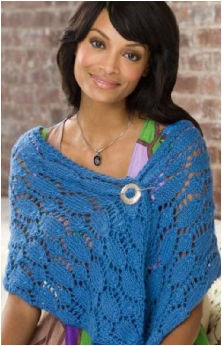 Knitting Patterns For Summer Shawls : Top 10 Patterns For Cozy Knitted Or Crocheted Summer Shawls