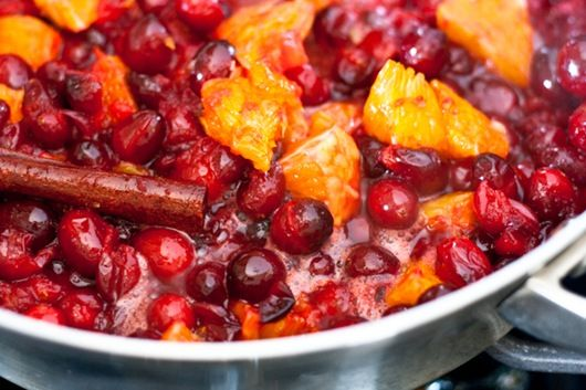 Cranberry Orange Ginger Sauce | Thanksgiving | Pinterest