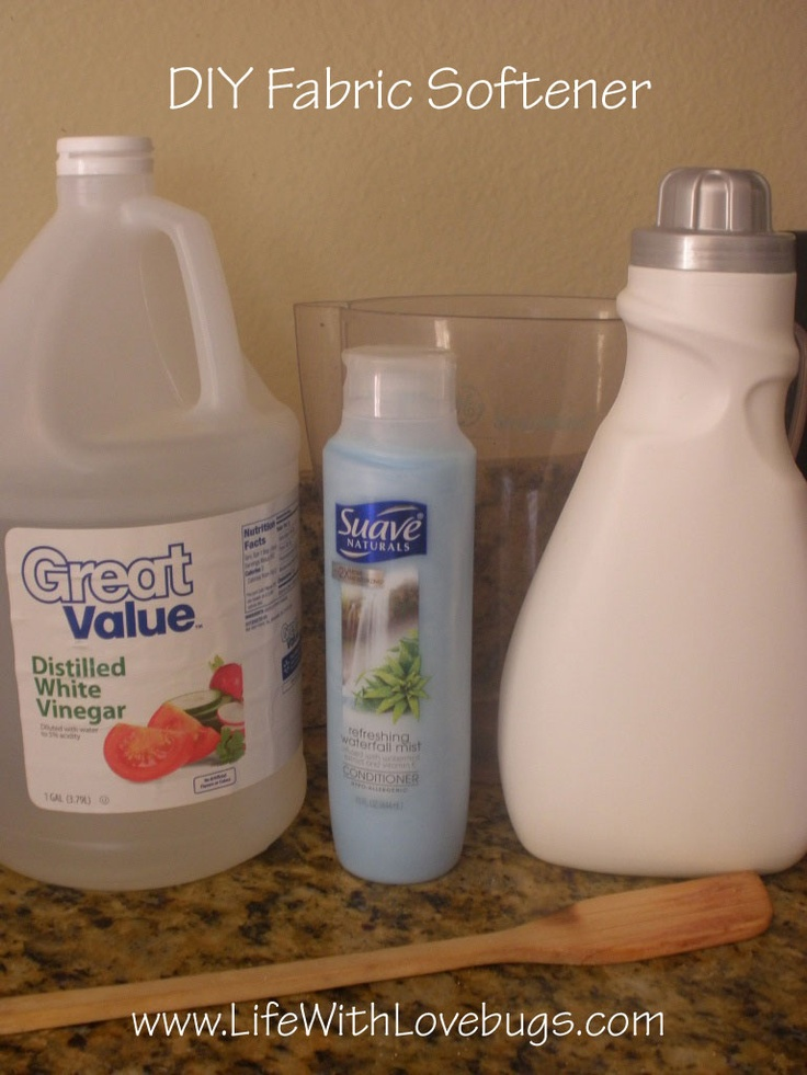 Diy fabric softener household diy pinterest - How to make your own fabric softener ...