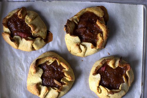 Rustic Rhubarb Tarts from Smitten Kitchen. Oh, how I miss living in ...