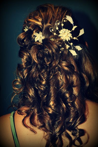 Wedding hair (No Veil) | .the.BIG.day.