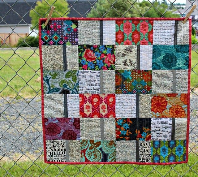 Quilt Patterns Using Large Scale Prints : Great for large scale prints Quilt Inspiration Pinterest