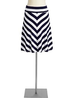 from old navy--fold over jersey skirt $19.94