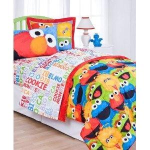 #10: Sesame Street Twin Sheet Set.