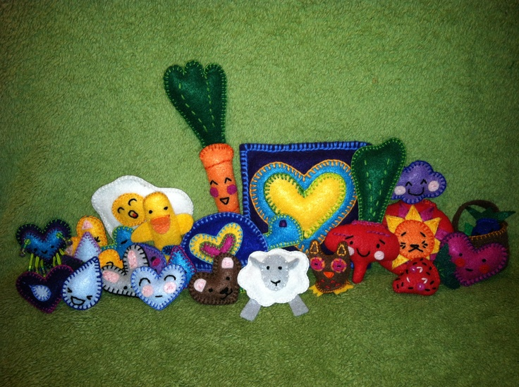 Felt crafts for charity hand made for Crafts to donate to charity