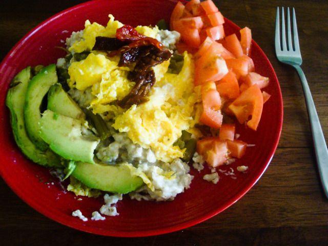 savory oatmeal | Oatmeal | Pinterest