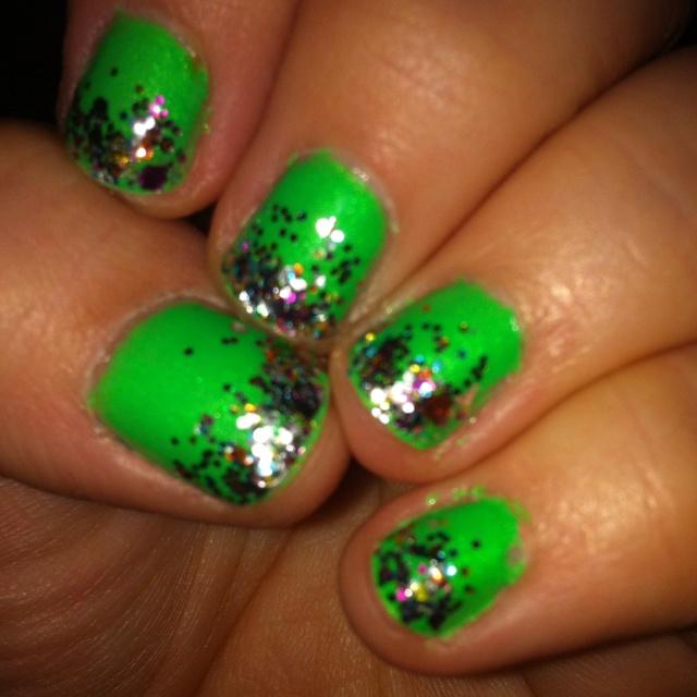 My Effie Trinket nails!