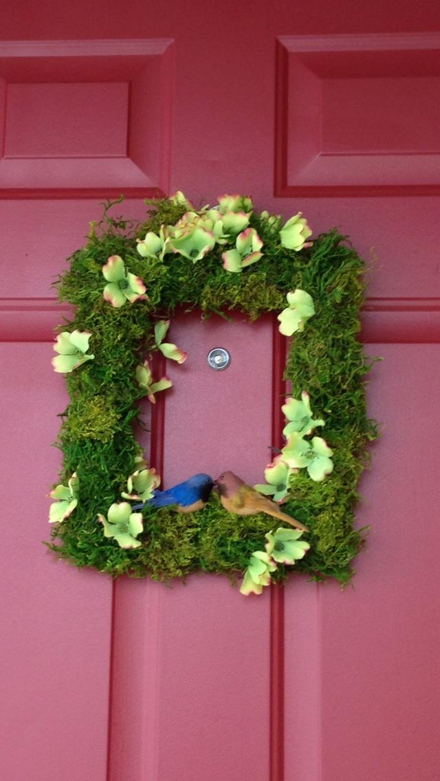 Spring Wreath Diy Ideas Pinterest