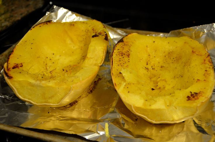 Easy Roasted Spaghetti Squash Recipe | Paleo cooking | Pinterest
