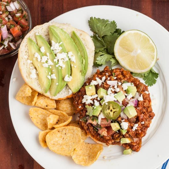 Tex Mex Sloppy Joes - Chew Out Loud