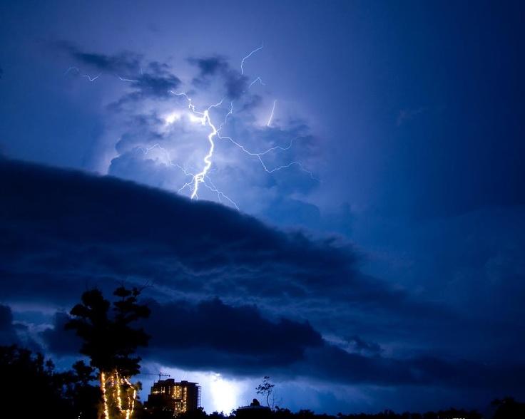Thunderstorms and Lightning Clip Art