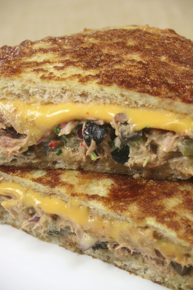 Tuna melts are always delicious! We use Dave's Killer bread, cheddar ...