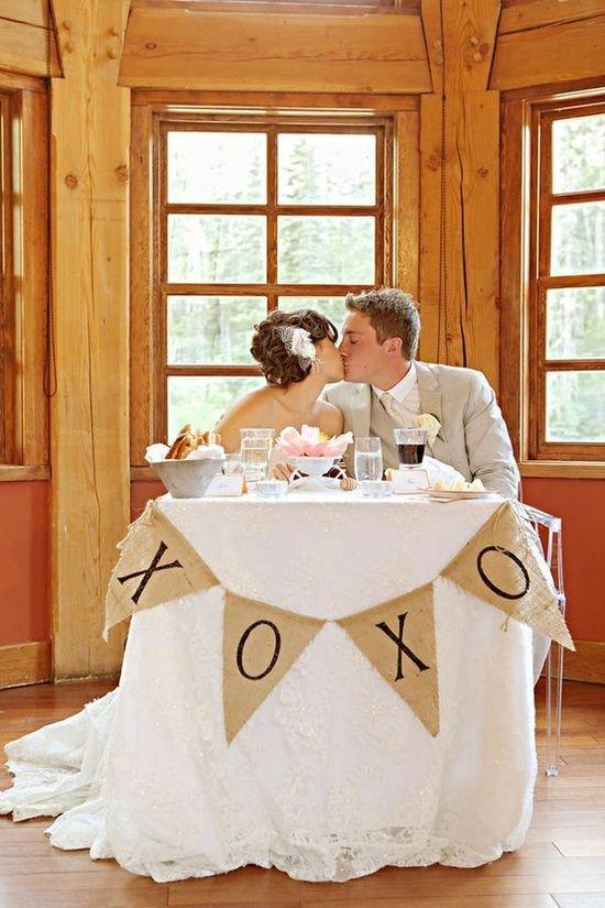 sweetheart table :) | Something Borrowed