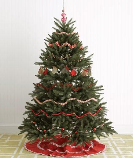 festive christmas tree decorating ideas