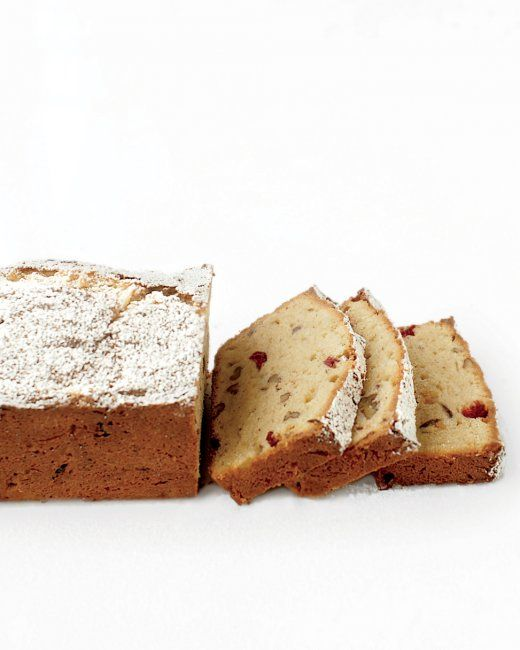 Gluten-Free Pound Cake with Cranberries | Recipe