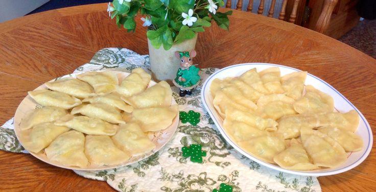 ... taste. This is my Grandma's recipe for POTATO-CHEESE PIEROGI FILLING