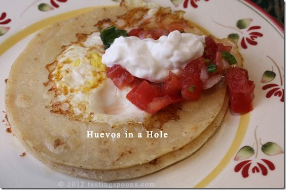 Huevos in the Hole | TastingSpoons | I Wanna Eat These Eggs! | Pinter ...