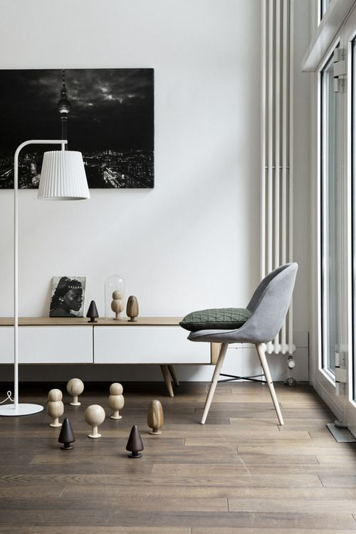 Buffet Bois Blanc : Buffet blanc et bois Objets design Pinterest