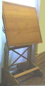 Antique drafting table for craft room for the home pinterest