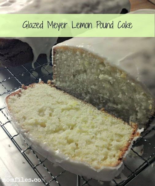 Glazed Meyer Lemon Pound Cake Recipe-made this with fresh lemons ...
