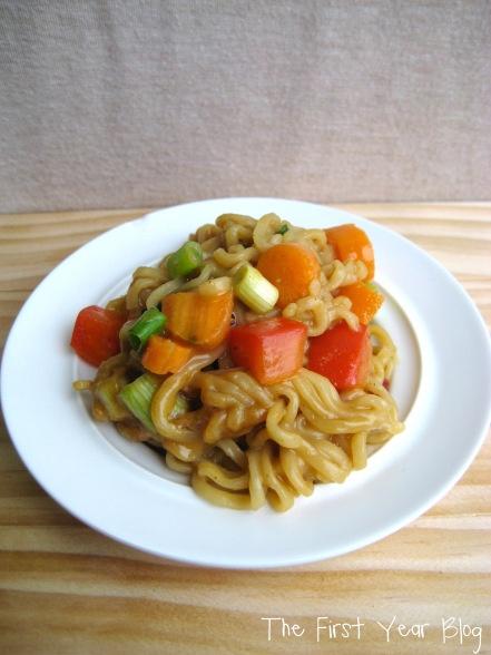 Spicy Peanut Thai Ramen Noodle Upgrade -