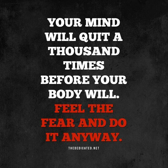 Mind Over Matter Fitness Quotes. QuotesGram