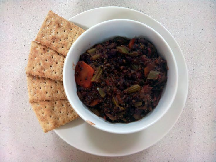 "Black Bean And Quinoa Chili! ""Some of the best Chili I've ever had ..."