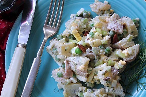 potato salad that eats like a meal | yummy | Pinterest