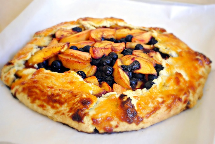 galette recipe yummly blueberry peach fruit salad blueberry peach