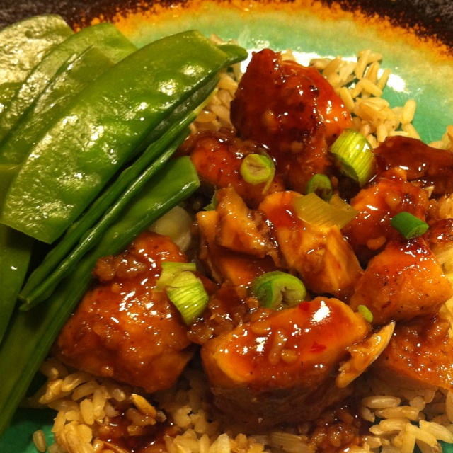 Baked General Tao's Chicken (adapted recipe) gluten free and no ...