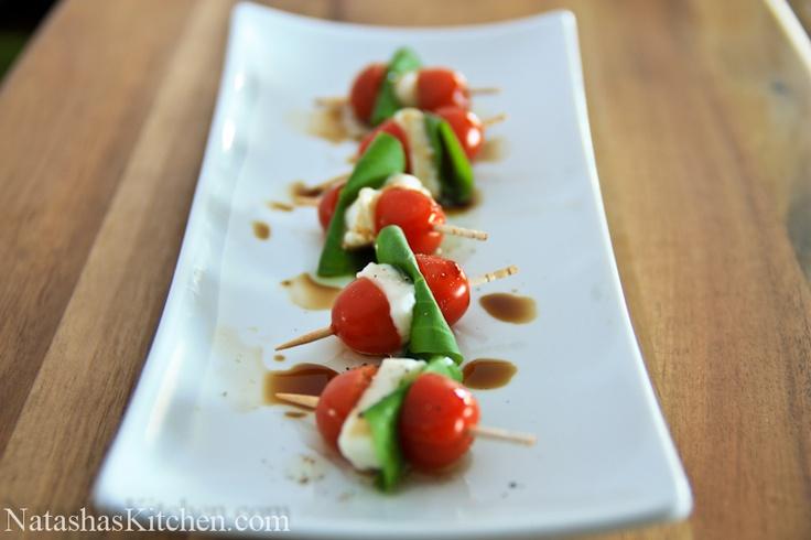 caprese salad skewers | merry CHRISTMAS | Pinterest