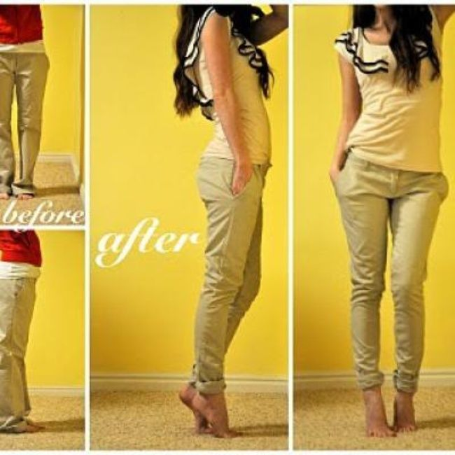 Tailoring Trousers Clothing Repurpose Make Pinterest