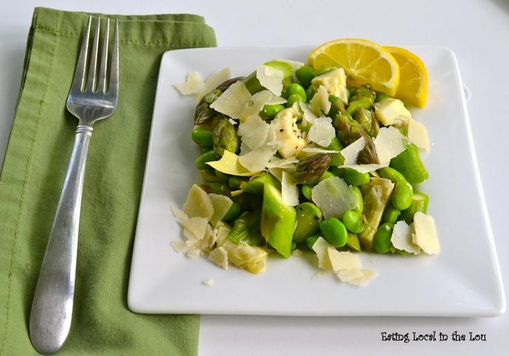 Asparagus Artichoke Salad Recipes — Dishmaps