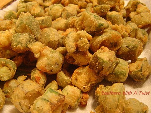 Fried Okra | Recipes | Pinterest