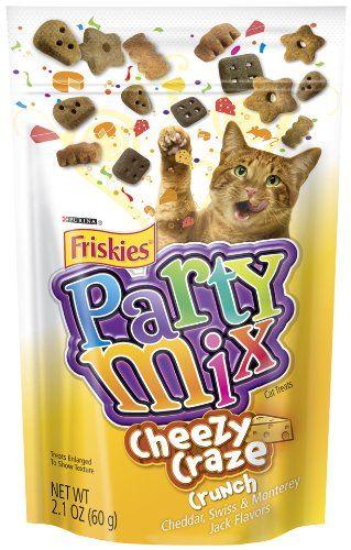 15.00-$21.95 Purina Friskies Party Mix Cheezy Craze Crunch, 2.1-Ounce ...