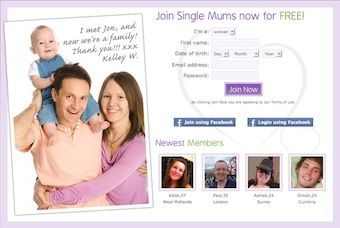 dating sites single dads