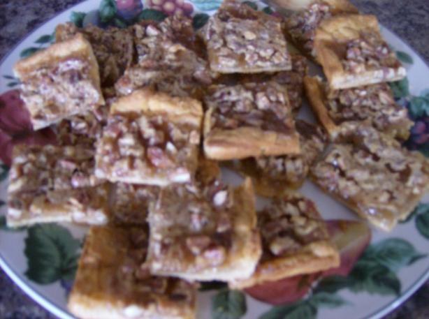 Quick Crescent Pecan Pie Bars from Food.com: 1973 Pillsbury Bake-Off ...