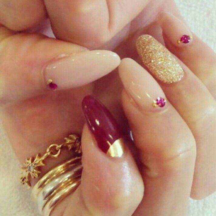 almond shape nails | nails | Pinterest
