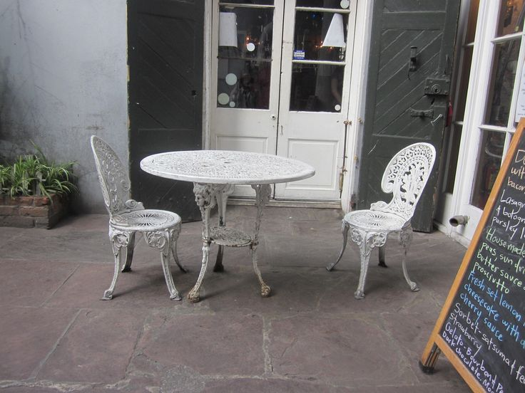 How To Refinish Metal Patio Furniture