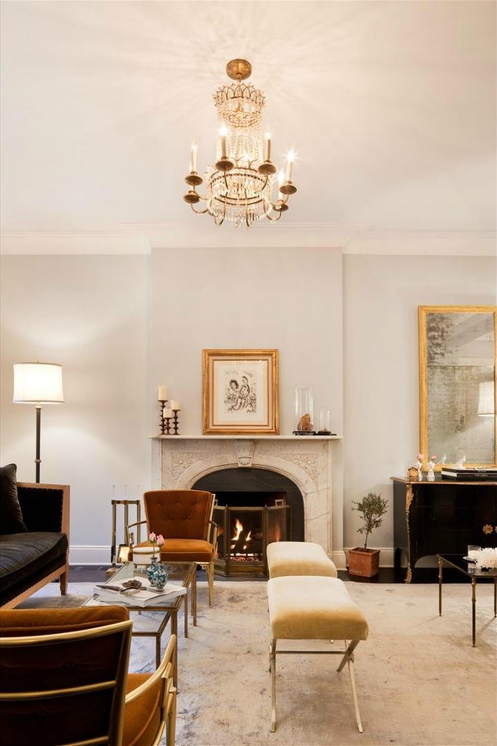 Rich grays brown gold living room iii lounge decor pinterest