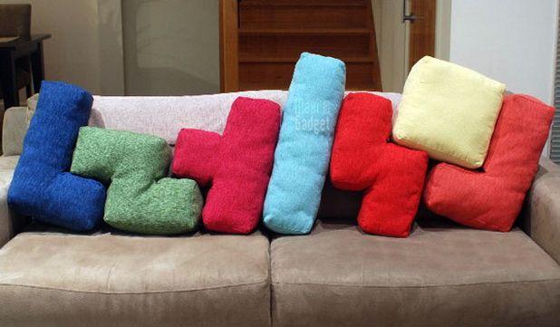 Diversos estilos de cojines para el hogar