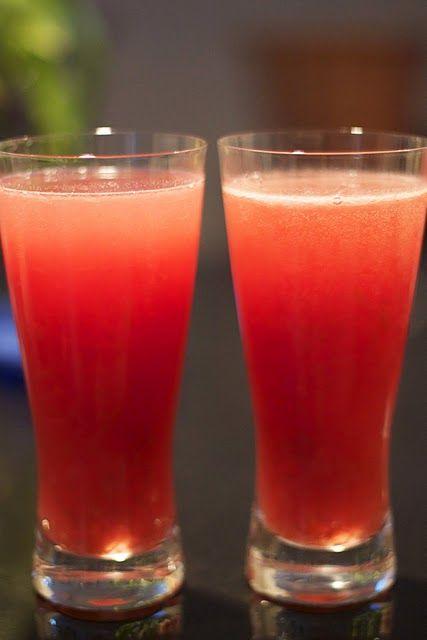 for @Stefanie McLaughlin Rhubarb Slush Ingredients 8 cups rhubarb (1 ...